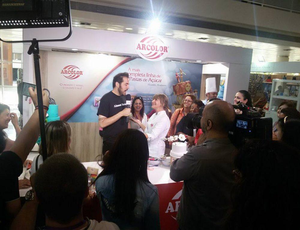 Participação Arcólor na Sugar Craft Show 2015 – São Paulo