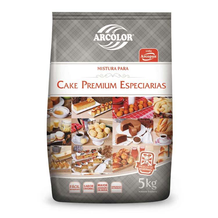 Mistura Cake Premium Especiarias