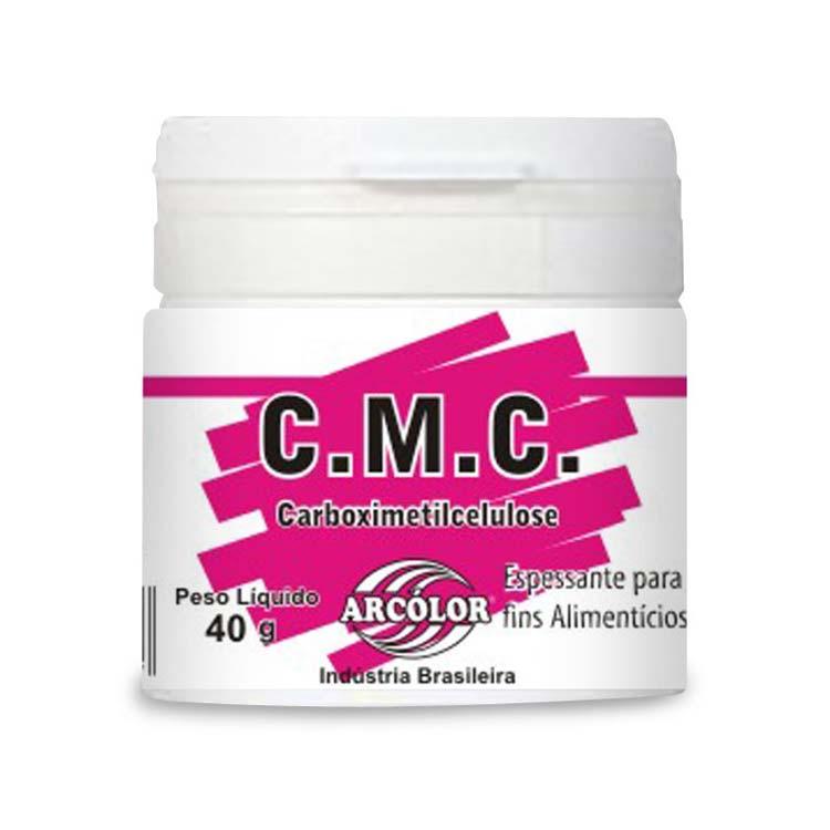 Receita da cola com CMC