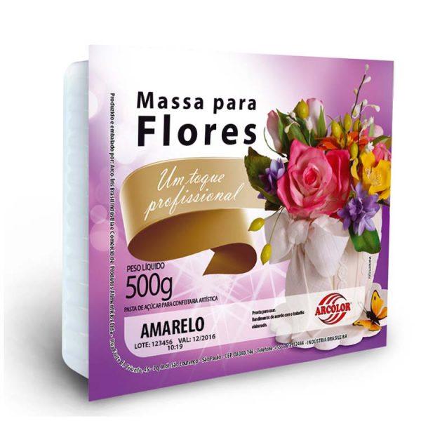 Massa para Flores Colorida