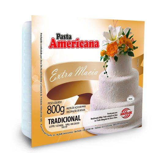 Pasta de Azúcar Blanca 800g