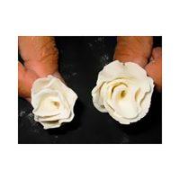 Rosa com Massa para Flores ou Massa Elástica Arcólor