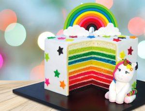 Bolo Cupcake Velvet 10 cores