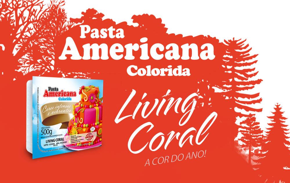 Pasta America Living Coral