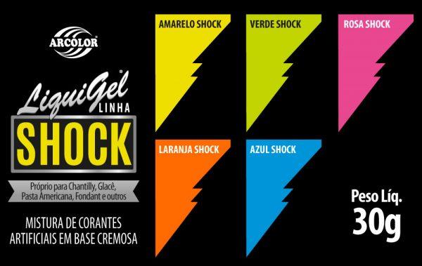 Amostra Liquigel Linha Shock 30g