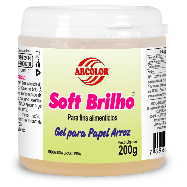 Soft Brilho para Papel Arroz