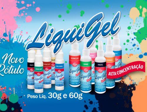 Novo rótulo Liquigel 30g e 60g