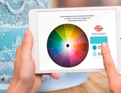 Paleta de colores interactiva
